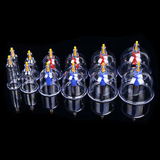 12PCS Kangzhu Health Care Chinese Medical Vacuum Cupping Therapy Massager Set