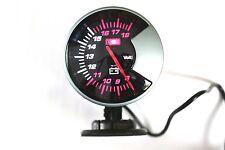 Medidor De Presión De Aceite Medidor coche Esfera Led Luz Blanca Led 2,34 pulgadas 60mm utilizado ²