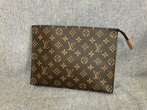 Authentic Louis Vuitton Monogram Toiletry Pouch 26
