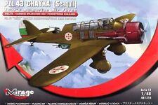 PZL 43 CHAIKA - GUERRA MONDIALE II BOMBER (BULGARA AF MKGS) 1/48 MIRAGE (KARAS)