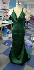 Milly Bridal Green Prom Dress Evening Gown Bridesmaid dress UK size 8 to 10 new