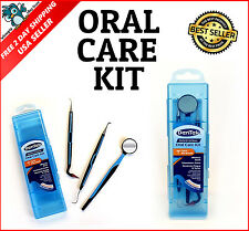 Professional Oral Teeth Care Kit Tooth Pick Dental Personal Hygiene Tools Travel