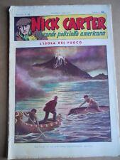 Nick Carter Il Grande poliziotto americano Anni 40 n°76 ed. NERBINI  [G369]
