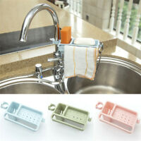 Kitchen Sink Sponge Holder Storage Organizer Basket Drainer Rack