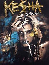 Ke$ha 2011 Cannibal Tour 2-sided T-Shirt Concert Kesha Get Sleazy