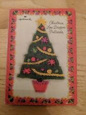Vintage Hallmark Christmas Line-Dropper Postcards 19 unused cards stationery