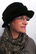 Women's Hat Case Hat VELVETY BLACK MOURNING WOMEN ''s Hats Occasion Funeral