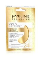 EVELINE COSMETICS GOLD LIFT EXPERT LUXURY ANTIWRINKLE GOLDEN EYE PADS 2 paches
