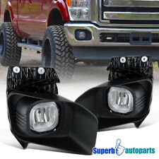 For 2011-2016 F250 F350 F450 F550 Fog Lights Bumper Lamps Replacement