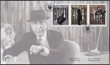 LEONARD COHEN = Famous Singer =OFDC (FDC) with Strip of 3 diff stamp Canada 2019