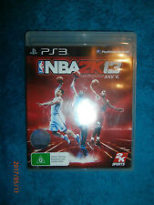 NBA 2K13 (Sony PlayStation 3, 2012) PS3 game basketball by 2K Sports