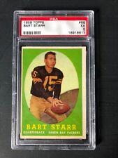 1958 Topps #66 Bart Starr Green Bay Packers PSA 5 Graded Football Card NFL