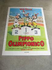 MANIFESTO, 2F,PIPPO OLIMPIONICO,Superstar Goofy.,WALT DISNEY,OLIMPIADI 1972