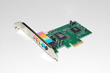 Express PCI-E 5.1 ChanPCInel Surround 3D Audio Sound Card with CD A019