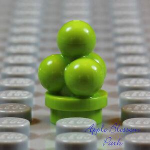 NEW Lego Minifig MINT ICE CREAM -Lime Green Kitchen Friends Dessert Sundae Food