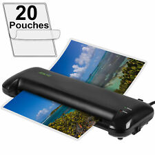 "Apache 13"" A3 Size Black Thermal Laminator and 20 Pouches"