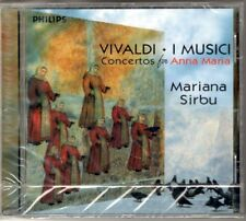 VIVALDI CONCERTOS FOR ANNA MARIA - I MUSICI MARIANA SIRBU - CD NUOVO SIGILLATO