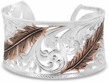 Montana Silversmiths Heavenly Whispers Feather Cuff Bracelet