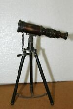 ANTIQUE TELISCOPE WITH TRIPOD