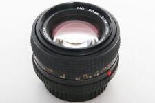 Minolta 50mm f1.4 MD Lens