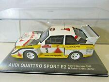 IXO Altaya 1:43 Scale Diecast Model Audi Quattro Sport E2 Sanremo 1985 W. Rohrl