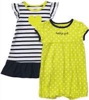 NEW NWT Carter/'s Baby Daddy/'s Girl Heart Romper /& Dress 2-pc Set Girls 18 months