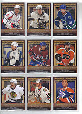 10-11 UD Upper Deck Biography of a Season Hockey Card Complete Set (30 Cards)