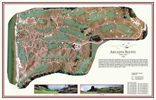 Arcadia Bluffs Golf Course -1999- Henderson/Smith - a VintageGolfCourseMap