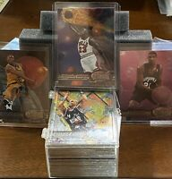 1997-98 SkyBox Metal Universe Basketball Card Set #1 -125 Jordan! Kobe!Duncan RC