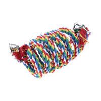 Kletterspirale Baumwolle Seil Spirale Vogelspielzeug für Papageien