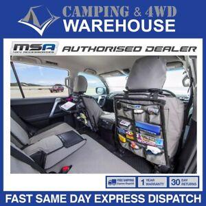MSA 4X4 HEAVY DUTY CAR SEAT ORGANISER 12 POCKETS -STORAGE - FREE FAST DELIVERY