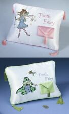 Tooth Fairy Pillow For Boy Girls Coin Pouch Embroidery Case