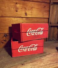 Rustic And Vintage Wooden Coke Cola Crate - Box Storage