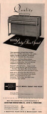 AD LOT OF 2 1940 'S  LESTER PIANO ADS BABY ROSS SPINET CONCERT GRAND