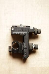 "Sinar P2 Camera 9/12 4/5"" Rear Bearer Standard Front Frame - Used Clean"