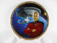 Star Trek: *Picard & The U.S.S. Enterprise NCC-1701-D* Plate # 4329-B  W/CERT