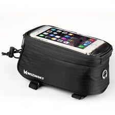 Fahrradtasche Rahmentasche Halterung für Smartphone 6,5 Zoll max 1,5L schwarz