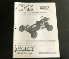 Losi XX Buggy Owners Manual Excellent Condition Box Art