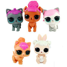 5pcs lot of Lol Surprise Pets Series 3 Wave 2 Dog Puppy Cat Kitten Figure Toys