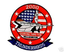 USAF THUNDERBIRDS DISPLAY TEAM Y2K MILLENNIUM PATCH