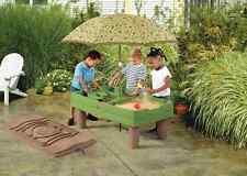 Kids Sand Box Water Play Table Activity Center Outdoor Toddler Backyard Sandbox