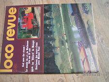 $$u Loco Revue N°433 Moulinsart  Mulhouse  CS 80 JC  autorails Mougel  4-231 D