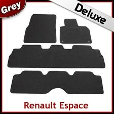 RENAULT ESPACE 2003 2004 2005 2006...2012 Tailored LUXURY 1300g Car Mats GREY