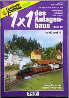 1x1 des Anlagenbaus Band 3, Eisenbahn Journal, Modellbahn Bibliothek - .  (345)
