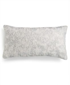 """Hotel Collection Lithos Beaded 12"""" x 22"""" Decorative Pillow"""