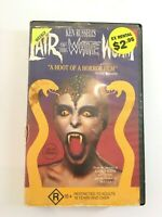 Lair Of The White Worm Rare Ken Russell Horror VHS Ex Block Buster Rental