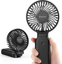 Easyacc Handventilator Tragbarer USB Ventilator Mini Lüfter Elektrisch mit Akku