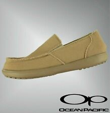 Boys Girls Ocean Pacific Slip On Raw Surf Canvas Shoes Sizes from C10 to 2.5