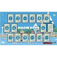 Machi Koro Deluxe Playmat  IDW Games IDW00804 Play Mat