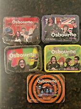 The Osbourne Family Mini Lunch Box Tin With Bubble Gum Set Of 5